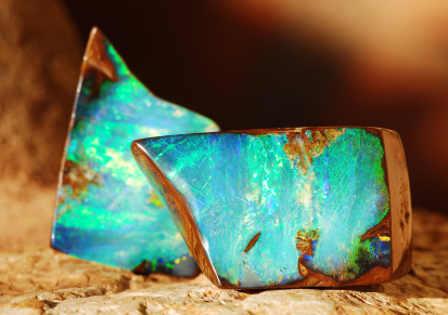 image of opals